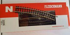 Gleis gebogen R5 15°, Fleischmann/Roco, Spur N, #22226, neu