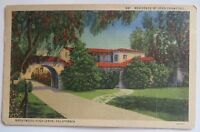 California Brentwood highlands 821 residence of JOAN CRAWFORD VINTAGE  PPC