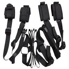 Kit bondage attaches restriction lit - Poignets et chevilles