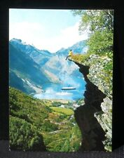 CPA carte postale Norge Norway Geiranger