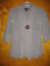 BCBG Maxazria max azria girls large L sweater knit wool blend jacket top A3