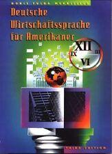 NEW Deutsche Wirtschaftssprache Fr Amerikaner by Doris Fulda Merrifield Paperbac