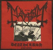 "Mayhem écusson/patch # 7 ""sorti"""