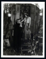 EARLY JOAN CRAWFORD AS A GYPSY - OVERSIZE 11X14 DBLWT PHOTO - 1928 SILENT - SIL