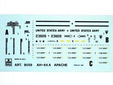Esci 9059 Vintage Decals AH-64A Apache 1:72 modellismo