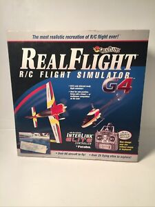Real Flight R/C Simulator G4 Interlink Elite Controller