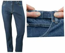 Cotton Unbranded Mid Classic Fit, Straight Jeans for Men