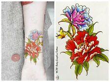 Einmal-Tattoo Temporary Tattoo  wasserdicht  120*90 mm  Neu