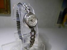 Truly Vintage 1958 Westclox 17 Jewel Wind Up Mechanical Women's Watch Works Fine