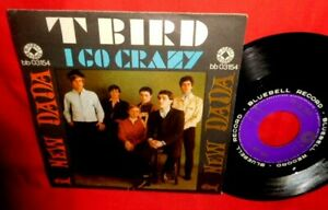 I NEW DADA T Bird I Go C  (James Brown cover) 45rpm 7' PS 1966 ITALY BEAT MINT-