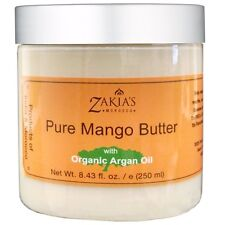 Organic Mango Butter with Argan Oil - 8.43 oz