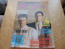 HOT PRESS 7/7/83 SPANDAU BALLET,EDDY GRANT,MARTIN CARTHY,NOEL REDDING,WARREN ZEV