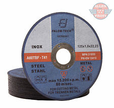25x Metalltrennscheiben Flexscheiben Stahl Edelstahl 125x1mm(25-TAR-MET-125x1,0)