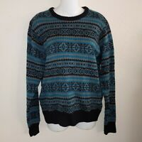 Men's 90s Sweater Young Men Cosby Sweater Retro Vibes Size Small Colorful...
