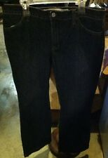 GAP Long And Lean Size 8 Regular Stretch Denim Dark Blue Womens Jeans