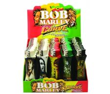 Bob Marley Curve Lighters (Case of 50) Refillable with Different Designs