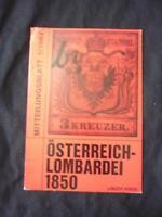 OSTERREICH-LOMBARDEI 1850 by LINZER KREIS