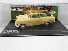 1/43 COCHE OPEL OLYMPIA REKORD CABRIO  COLLECTION METAL MODEL CAR miniatura