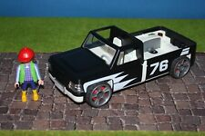 Playmobil Pickup Negro Buen Estado