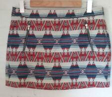 Zara Geometric Mini Skirts for Women