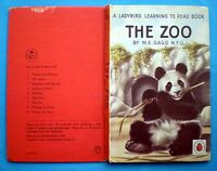 The Zoo vintage Ladybird book animals bear lion tiger Learning To Read children
