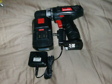 "18 Volt 3/8 inch Cordless Drill/Driver Set, Keyless Chuck 22 Settings NEW ""LOOK"""