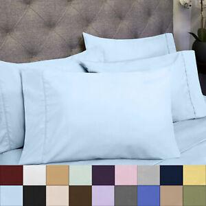 1500 Count Microfiber 6 Piece Sheet Set RV Short Queen Asst Colors