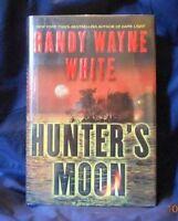 Randy Wayne White - HUNTER'S MOON - 1st/Inscribed