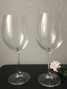 Large TALL Red Wine Glasses Balloons Set Of 2 Pint Beer Glassware Drink Cup650ml