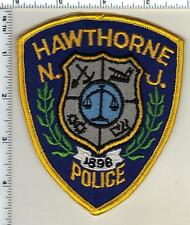 Hawthorne Police (New Jersey) Shoulder Patch from 1992