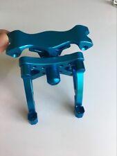 Baja front metal head shock tower brace bracket for baja 5b HPI KM Rovan blue