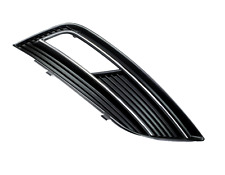 Audi A4 B8 11-15 STOßSTANGE GITTER GRILL BLENDE VORNE LINKS Aussparung Chrom