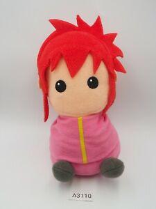 """Yu Yu Hakusho A3110 Kurama Youko Sk Japan Beanie Plush 7"""" Toy Doll japan"""