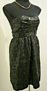 NEW WITH TAGS! Myer Cooper Street Black Silk Dress Size 10 RRP $249