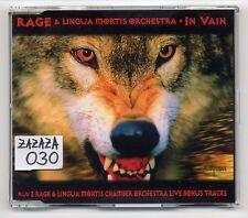 Rage Maxi-CD Dans Vain édition I 4 chansons incl. The Beatles COUVERCLE VERSION