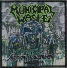 Municipal Waste - Slime and Punishment Patch 10cm x 10cm