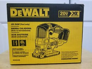 DeWalt 20V MAX XR Lithium-Ion Cordless Brushless Jig Saw (Tool Only ) DCS334