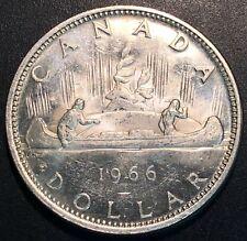 1966 Canada Silver $1 Dollar Coin - Great Condition