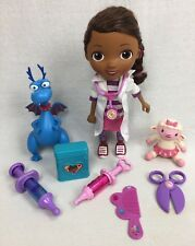 "Disney Just Play Doc McStuffins 11"" Doll w/ Lamby Stuffy & Accessories FREESH"