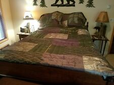 Queen size Quilt, bedskirt and 2 shams