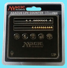 ULTRA PRO MTG ABACUS BLACK LIFE COUNTER NEW Magic The Gathering 5 Mana Symbol