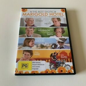 The Best Exotic Marigold Hotel dvd + FREE POST