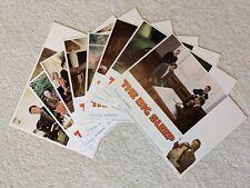 "Original Lobby Cards (set of 8) for ""The Big Sleep"" 1978, Robert Mitchum 11""x14"""