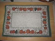 Cindy Shamp Pumpkins & Gourds Tapestry Pillow Top Fabric Piece