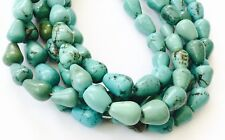 30 Tear Drop Natural Turquoise Gemstone beads Stone-jewelry Supplies