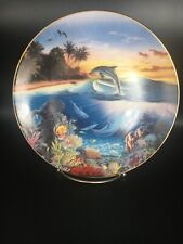 Dolphin's Dance From Symphony Of The Sea - Hamilton Collector Plate ~