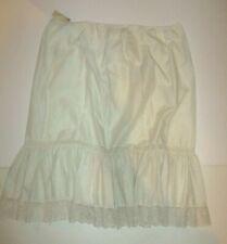 Vintage Movie Star Brand Eyelet Petticoat Plus Size Women'S 26/28 Needs Elastic