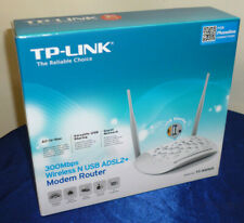 TP-Link TD-W8968 300 Mbps Wireless N ADSL2+ Modem Router Gaming 802.11n Landline