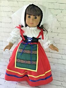 Doll Clothes for the American girl doll and other 18'' soft body dolls  Handmade
