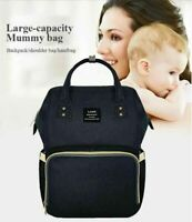 Large Multifunctional Baby Diaper Nappy Backpack Maternity Mummy Changing Bag AU